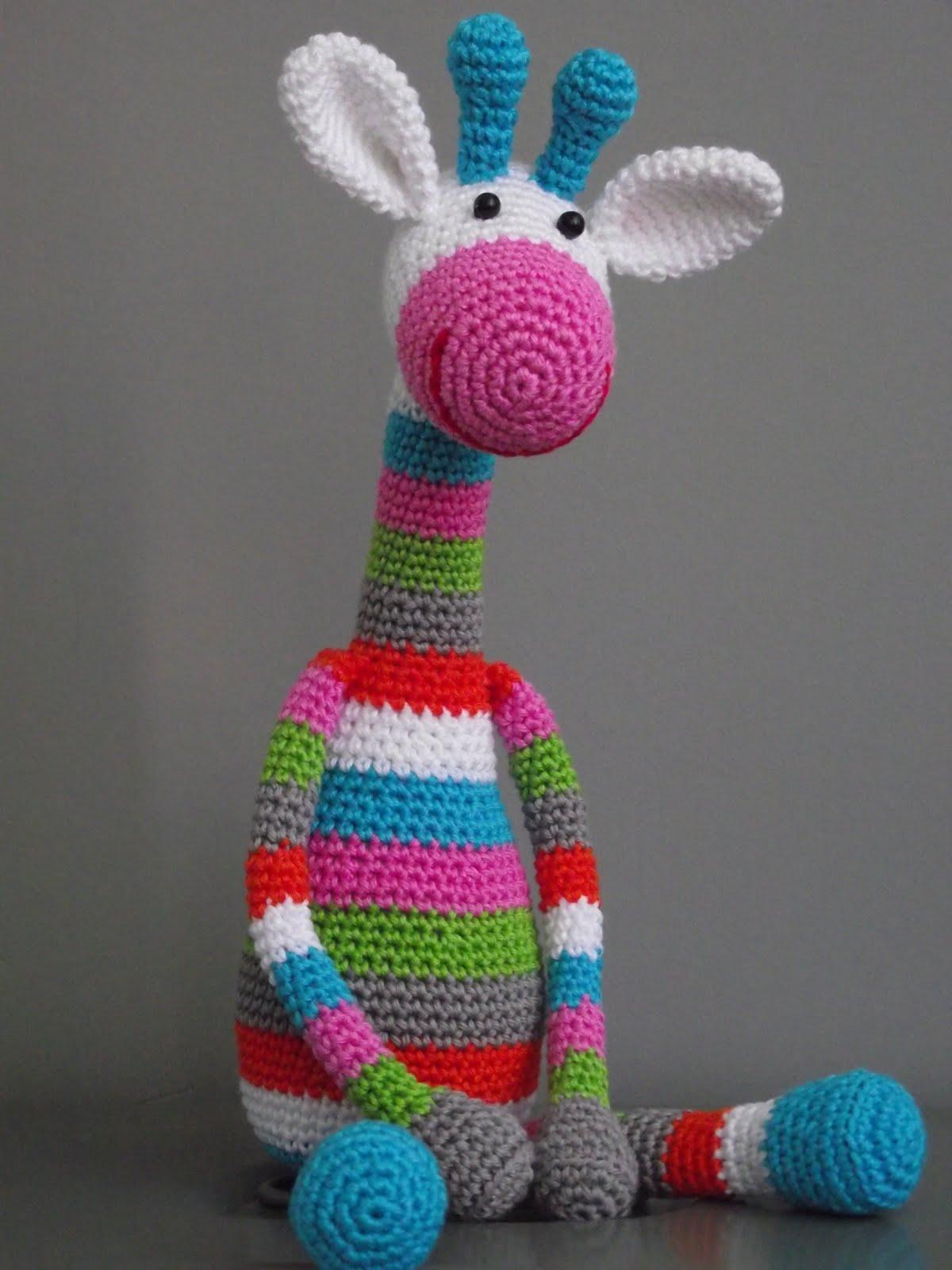 Amigurumi Giraffe Haken : willewopsie: juni 2011