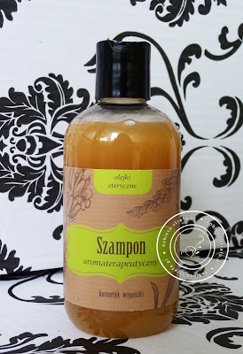 Zielone laboratorium - szampon aromaterapeutyczny - olejki eteryczne - kosmetyk wegański