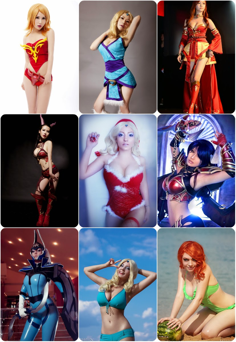 Sexy Cosplay Girls Dota 2