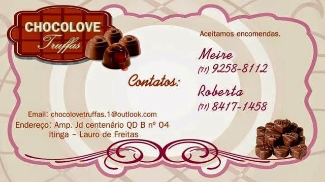 Chocolove Truffas - (71) 9-9258-8112