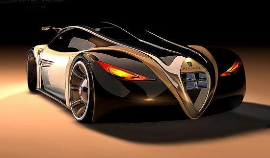 Peugeot 4002 Concept Car