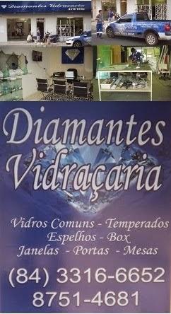 DIAMANTES VIDRAÇARIA