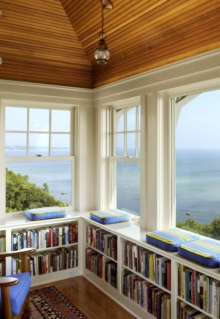 windows...view...and books!