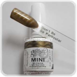 Gelish Swatch Don't Be So Particular