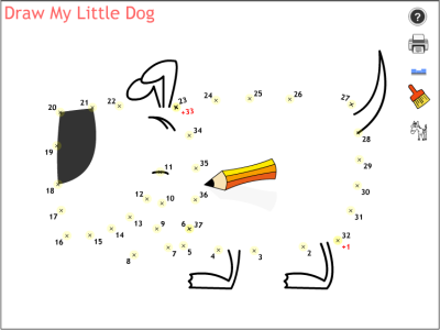 http://media.y8.com/system/contents/36047/original/Draw_My_Little_Dog.swf?1323733816