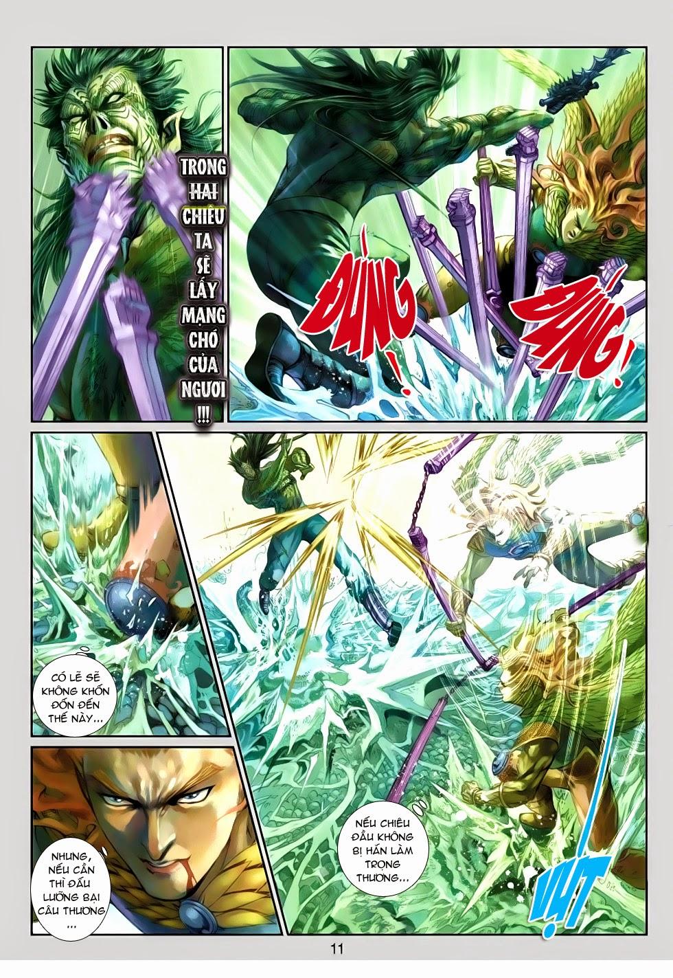 Thần Binh Tiền Truyện 4 - Huyền Thiên Tà Đế chap 13 - Trang 11