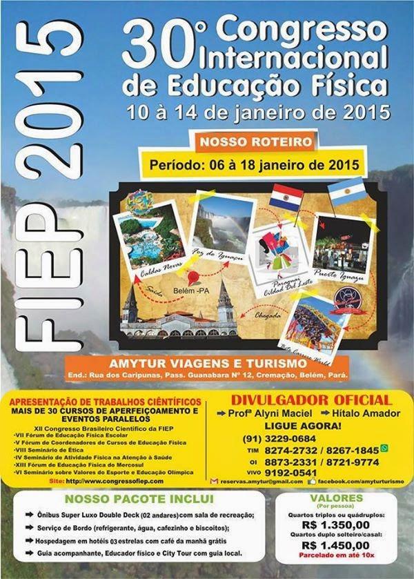 30º Congresso Internacional de Educação Física  FIEP 2015
