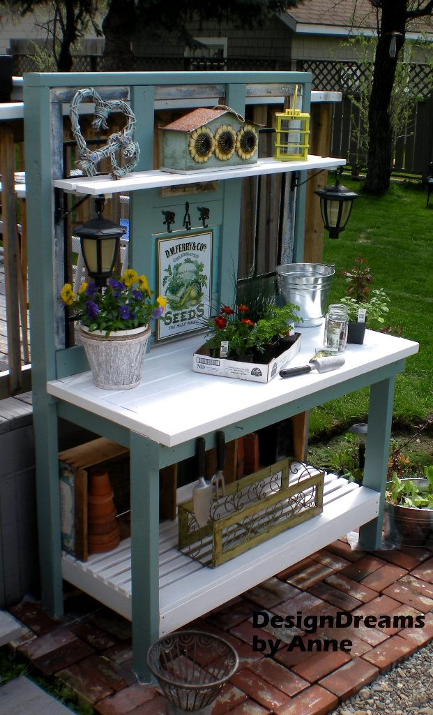 http://designdreamsbyanne.blogspot.ca/2013/05/potting-bench-part-i.html