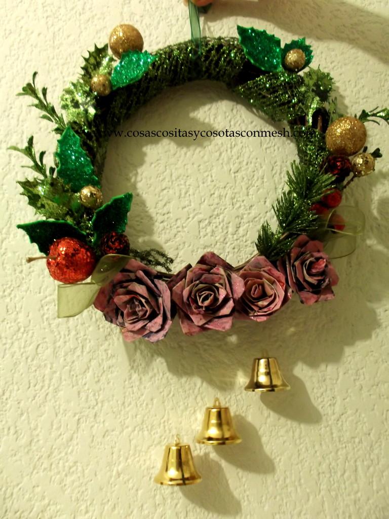 Manualidades decorativas para navidad cositasconmesh for Manualidades para navidad paso a paso