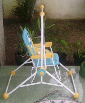 Baby Swing yang fleksibel bisa indoor dan outdoor