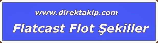 Flatcast Flot şekiller 3 adet Mühteşem
