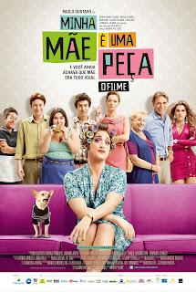 Pôster/cartaz/capa nacional de MINHA MÃE É UMA PEÇA - O FILME