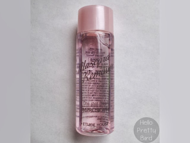 Etude House Mascara Remover mini sample