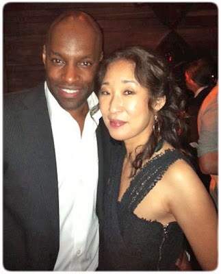 Sandra Oh colin lawerence The Killing