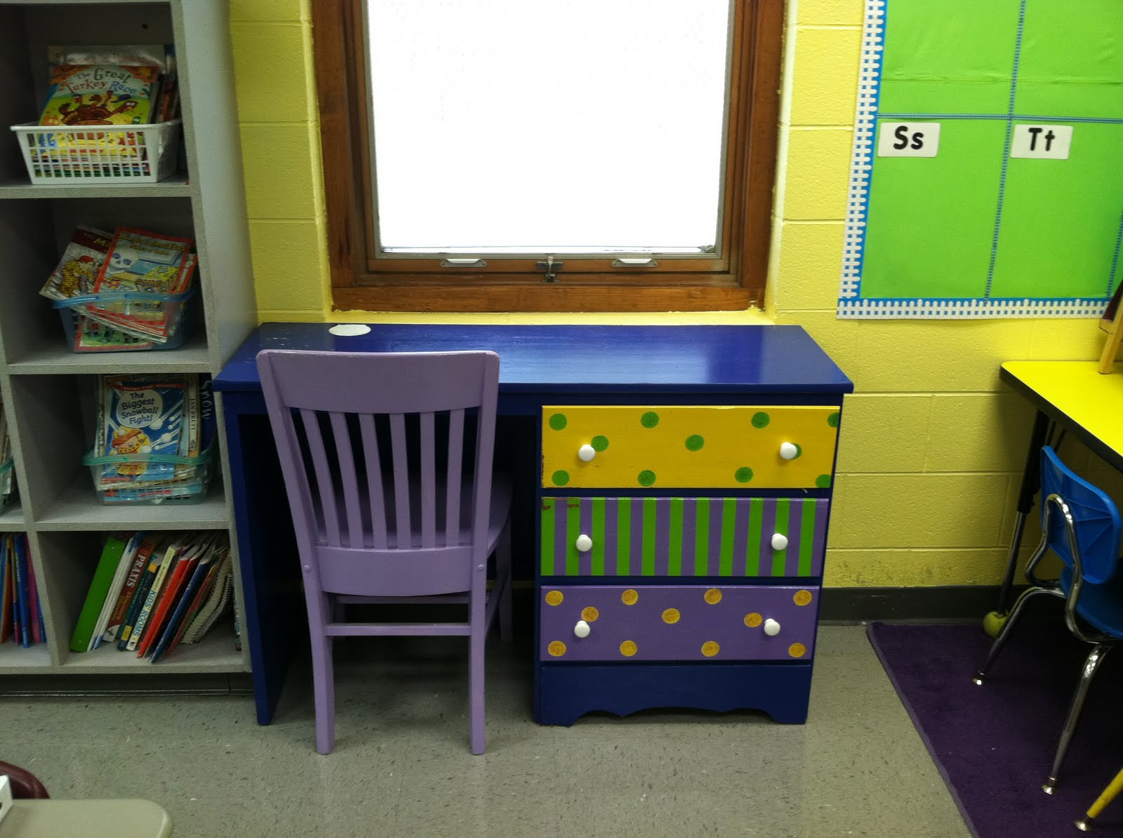 Classroom Workstation Ideas : Life in first grade classroom decorating day ten