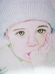 Bebê chupando o dedo