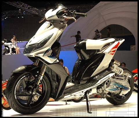 Kumpulan Honda Beat Icon Modifikasi 2011 - 2012