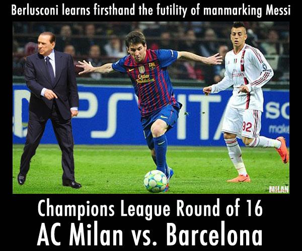 International Champions Cup Milan Vs Barcelona: AC Milan Vs. Barcelona: Game On