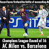 Champions League – AC Milan vs. Barcelona: Game On!