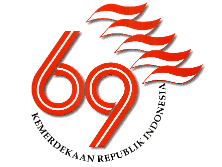 Logo Peringatan HUT ke-69 Republik Indonesia