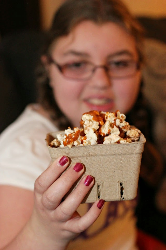 Family Movie Night: The Boxtrolls and Snickerdoodle Popcorn Recipe