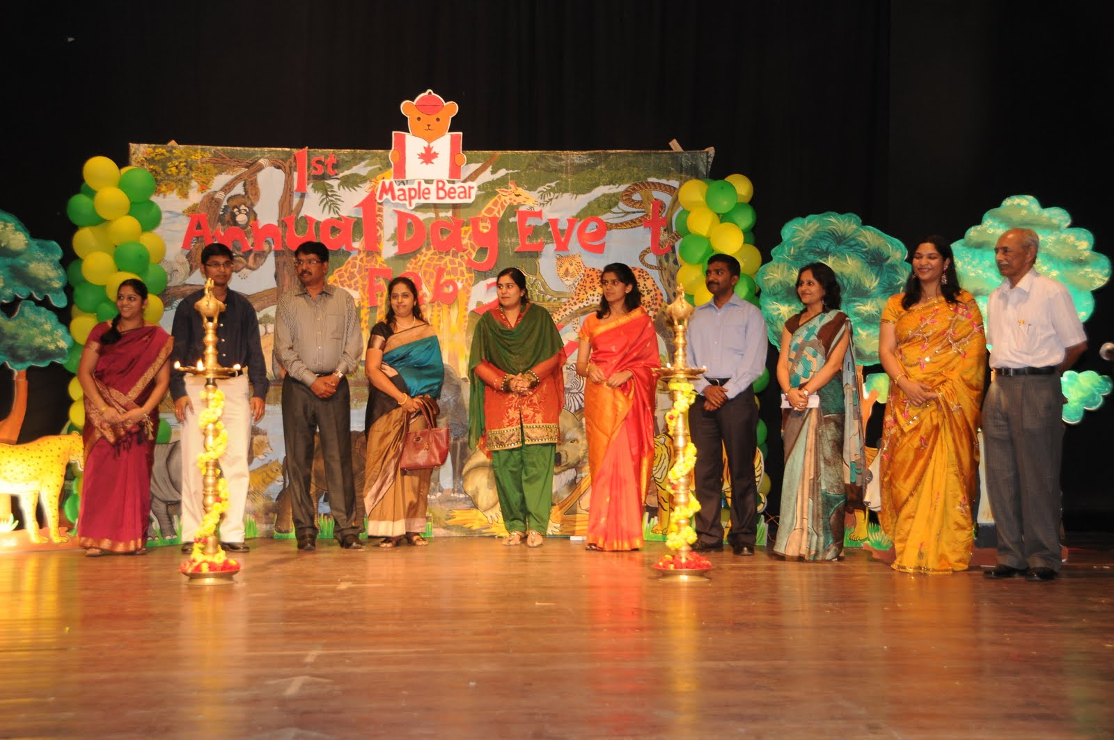 speech on stage conduction on annual function Oxford grammar school celebrated its 29th annual sports and games inaugural function on 1st nov, 2009 the dignitaries were presented smtcsramalaxmi, ifs, addl pccf (environment cell).
