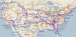 U.S. Roads Traveled