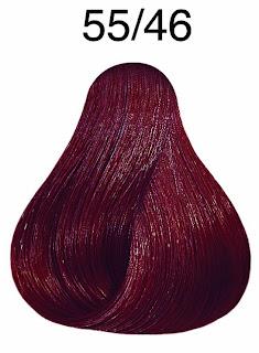 Intenzív világosbarna/vörös - violet