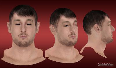 NBA 2K13 Andrew Bogut Cyberface Mod
