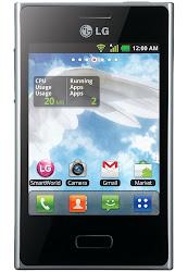 harga LG Optimus L3 E400, spesifikasi LG Optimus L3 E400 lengkap terbaru, hp android murah 1 jutaan