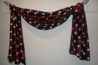 The Fourth Great Way To Hang Your Scarf Swag Curtains Curtains Design