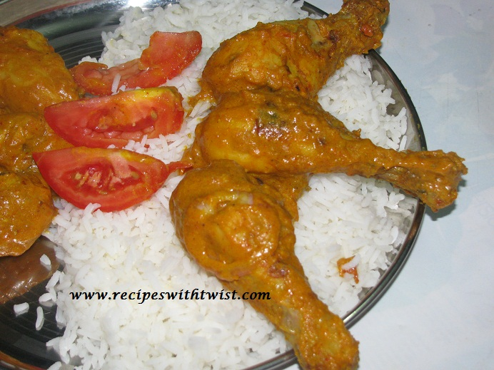 Indian style chicken drumstick roast recipe