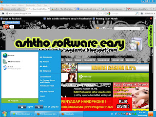 Theme Windows 8 untuk Windows XP