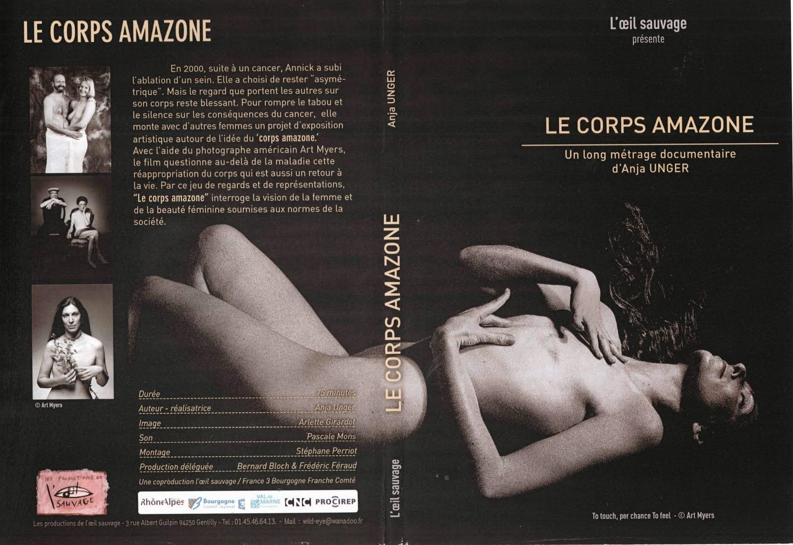 DVD Le Corps Amazone