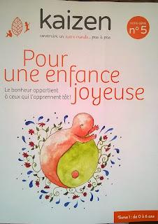 Kaizen hors série magazine parentalité bienveillante livre éducation maternage respectueuse