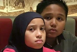 Dua beradik yang hilang sejak Rabu ditemui selamat