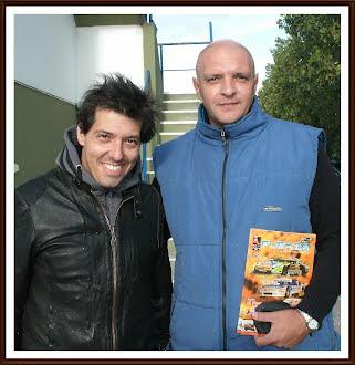 Junto a Gastón Mazzacane