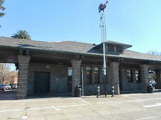 santa rosa california train depot