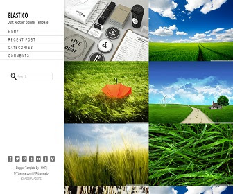 Download Template Blogspot Elastico