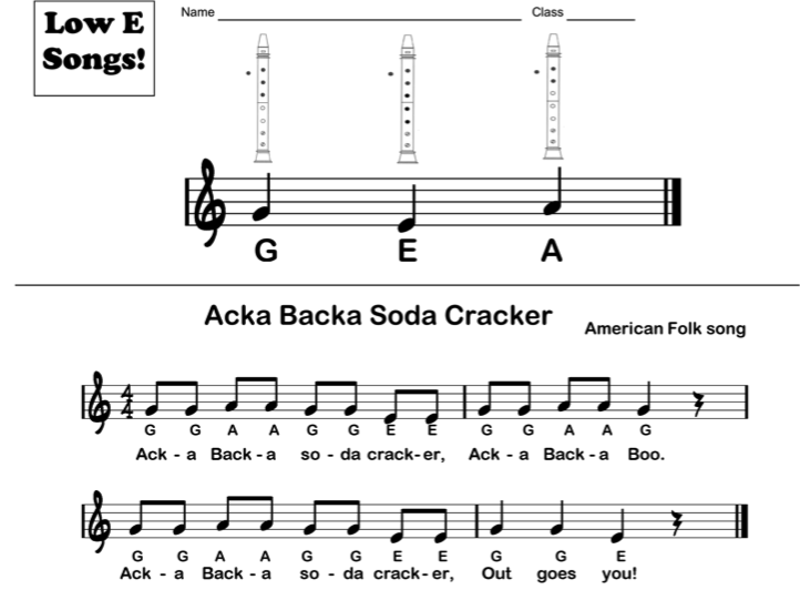 how to play low d on recorder