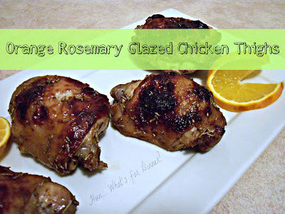 Sticky Orange-Glazed Chicken Thighs Recipes — Dishmaps