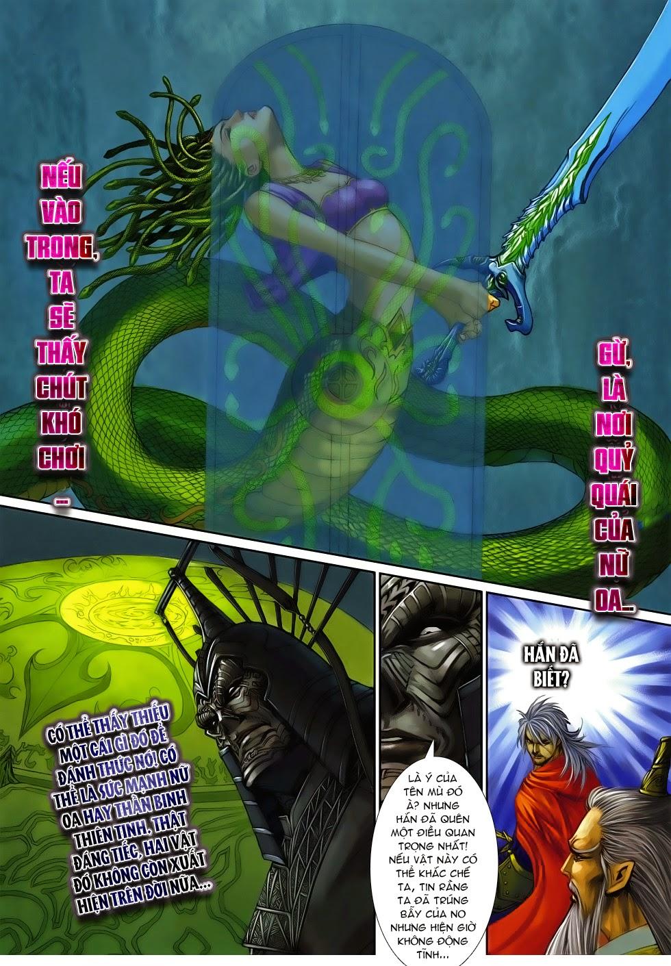 Thần Binh Tiền Truyện 4 - Huyền Thiên Tà Đế chap 14 - Trang 29