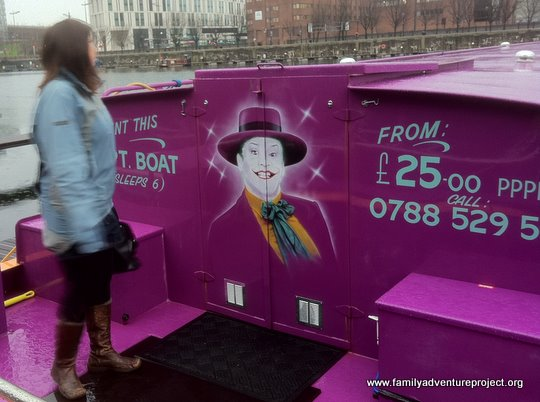 Joker Boat Albert Dock Liverpool