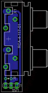 Automatyczny przełącznik audio - dodatkowe PCB