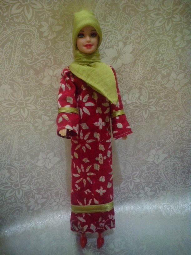 Gambar boneka barbie muslim untuk anak online