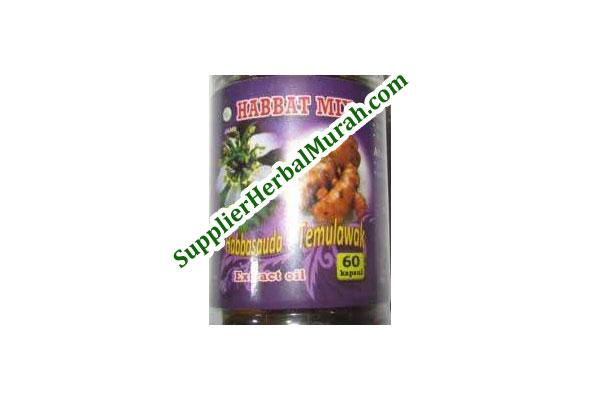Extract Oil Habbasauda + Temulawak