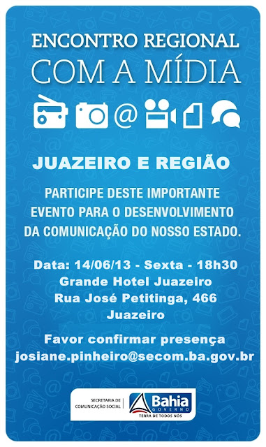 JUAZEIRO : ENCONTRO COM A MÍDIA REGIONAL