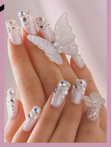 Wedding nail art design 2015httpnails sidespot bridal party nail art collection prinsesfo Image collections