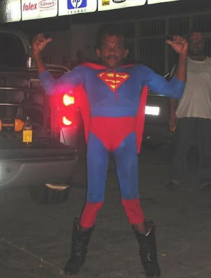lustiges Bilder: Superman negro