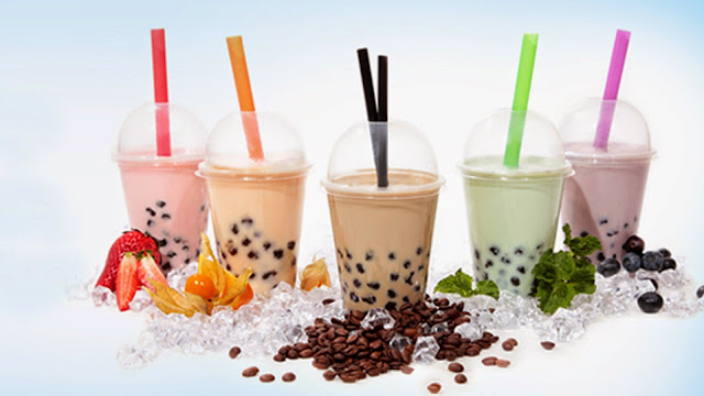 usaha franchise minuman bubble drink milkshake powder 2016